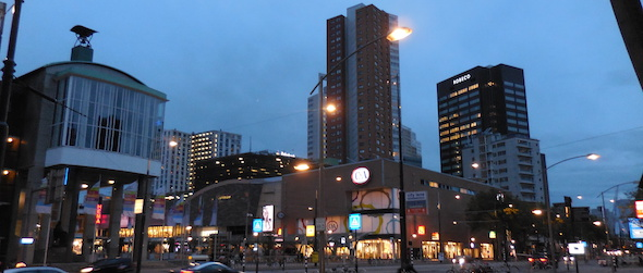 Pic of Rotterdam taken while traveling through the Netherlands