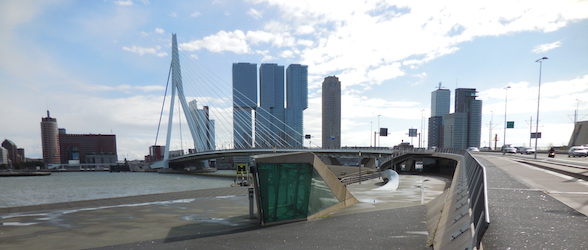 pic of rotterdam taken while travelling through the Netherlands