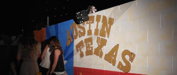 Image of Austin taken while traveling through Austin
