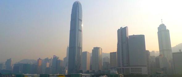 Pic of Hong Kong taken while traveling through HK