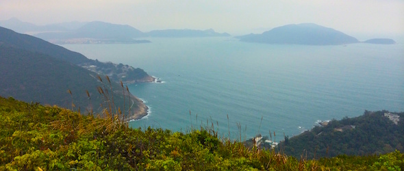 Picture of the Beaches taken while traveling through Hong Kong