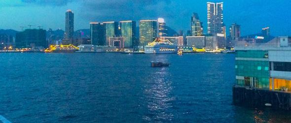 Pic of T.S.T. taken while traveling through Hong Kong