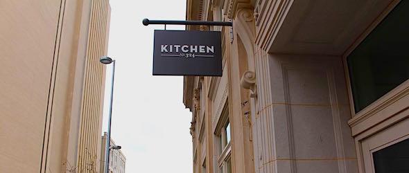 Pic of the Kitchen restaurant taken while traveling through Oklahoma