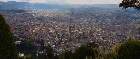Pic of Bogota taken while traveling through Colombia