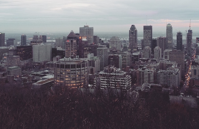 The Montreal City Skyline
