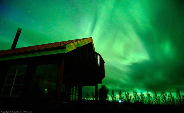 The Northern Lights In Iceland