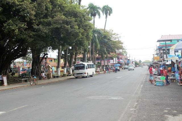 The Main Strip In Bocas Del Toro