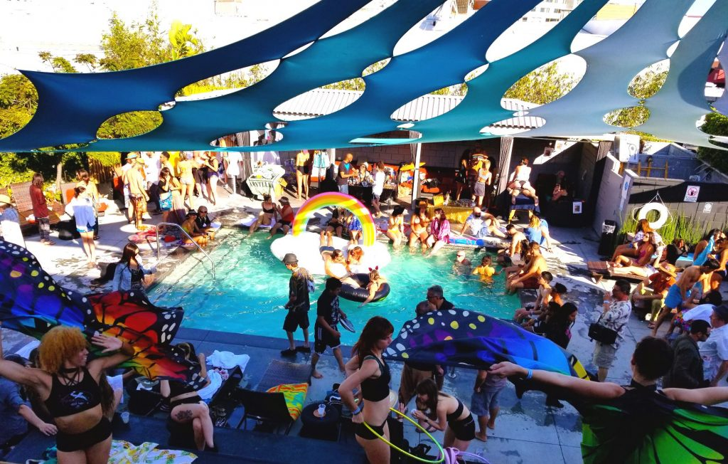 Liquid Frequencies Pool Party