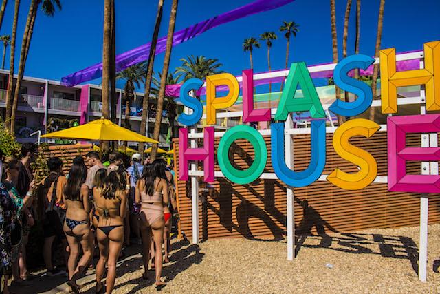 Entrance To The Saguaro Hotel At The SplashHouse Music Festival
