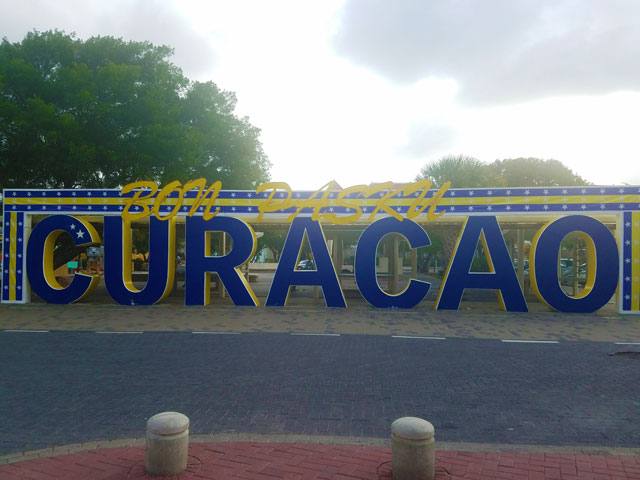 Curacao is a tiny island nation in the Caribbean